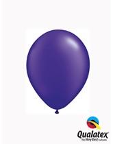 "5"" Pearl Quartz Purple Latex Balloons 100pk"