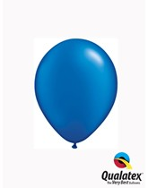 "5"" Pearl Sapphire Blue Latex Balloons 100pk"