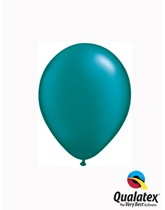 "Qualatex Pearl 5"" Pearl Teal Latex Balloons 100pk"