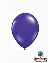 """Qualatex Jewel 5"""" Quartz Purple Latex Balloons 100pk"""