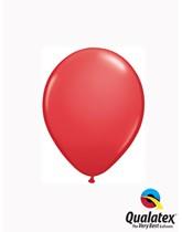"Qualatex Standard 5"" Red Latex Balloons 100pk"