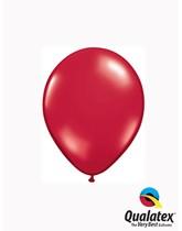 "Qualatex Jewel 5"" Ruby Red Latex Balloons 100pk"