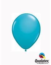"""Qualatex Fashion 5"""" Tropical Teal Latex Balloons 100pk"""
