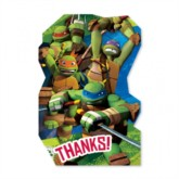 Teenage Mutant Ninja Turtles Thank You Postcards 8pk