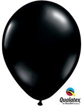 """Qualatex Fashion 11"""" Onyx Black Latex Balloons 100pk"""