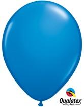 "Qualatex Standard 11"" Dark Blue Latex Balloons 100pk"