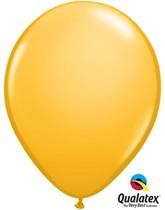 "Qualatex Fashion 11"" Goldenrod Latex Balloons 100pk"