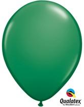 "Qualatex Standard 11"" Green Latex Balloons 100pk"