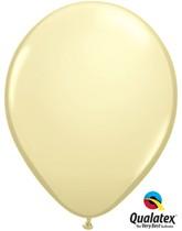"""Qualatex Fashion 11"""" Ivory Silk Latex Balloons 100pk"""