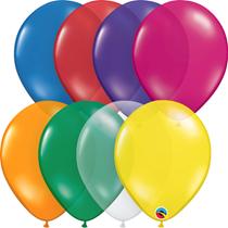 "Jewel Assortment 11"" Latex Balloons 100pk"