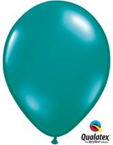 """Qualatex Jewel 11"""" Jewel Teal Latex Balloons 100pk"""