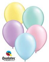 "11"" Pastel Pearl Asst'd Latex Balloons 100pk"