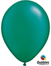 "11"" Pearl Emerald Green Latex Balloons 100pk"
