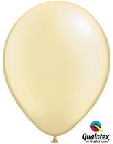 "Qualatex Pearl 11"" Pearl Ivory Latex Balloons 100pk"