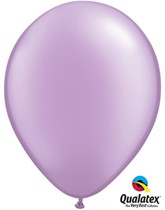 "Qualatex Pearl 11"" Pearl Lavender Latex Balloons 100pk"