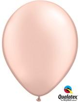"""Qualatex Pearl 11"""" Pearl Peach Latex Balloons 100pk"""