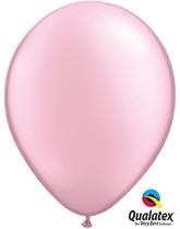 """11"""" Pearl Pink Latex Balloons 100pk"""