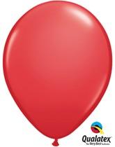 "Qualatex Standard 11"" Red Latex Balloons 100pk"