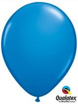 "16"" Dark Blue Latex Balloons 50pk"