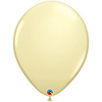 "Ivory Silk 16"" Latex Balloons 50pk"