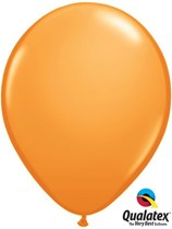 "16"" Orange Latex Balloons 50pk"