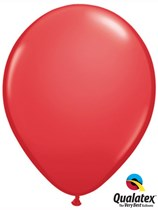 "16"" Red Latex Balloons 50pk"