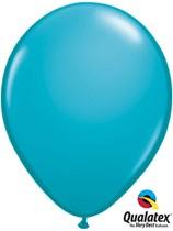 "16"" Tropical Teal Latex Balloons 50pk"