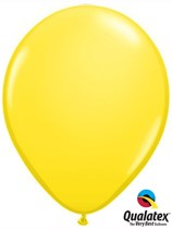 "16"" Yellow Latex Balloons 50pk"