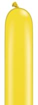 Qualatex 260Q Citrine Yellow Latex Modelling Balloons 100pk