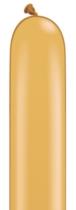 Qualatex 260Q Gold Latex Modelling Balloons 100pk