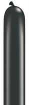 Qualatex 260Q Pearl Onyx Black Latex Modelling Balloons 100pk