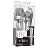 Premium Stainless Silver Assorted Cutlery 32pce