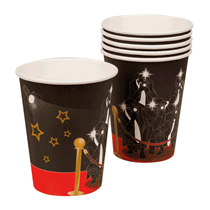 Hollywood VIP Paper Cups 6pk
