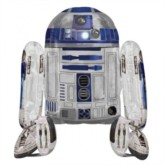 "Star Wars R2D2 38"" Airwalker Foil Balloon"