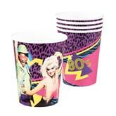 80's Paper Cups 6pk