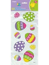Patterned Easter Egg Cello Bags 20pk