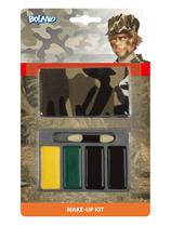 Army Camouflage Make Up & Bandana Kit