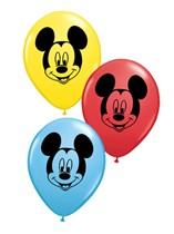"""Assorted Disney Mickey Mouse 5"""" Latex Balloons 100pk"""