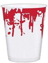 Halloween Blood Splatter Large Plastic Cups 25pk