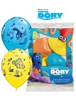 "Finding Dory 11"" Latex Balloons 6pk"