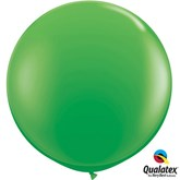 Spring Green Round 3ft Latex Balloons 2pk