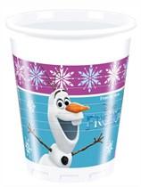 Frozen Northern Lights Plastic Cups 8pk