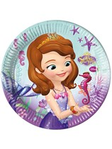 Sofia The First Pearl of the Sea Paper Plates 8pk
