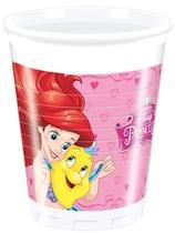 Disney Princess Storybook Plastic Cups 8pk