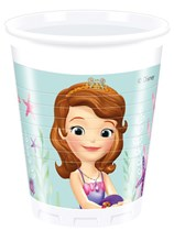 Sofia The First Pearl of the Sea Plastic Cups 8pk