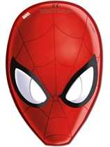 Ultimate Spiderman Party Masks 6pk