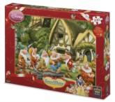 Snow White Seven Dwarves Jigsaw Puzzle