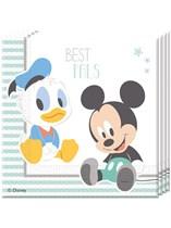Disney Baby Mickey Luncheon Napkins 20pk