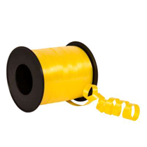 Yellow Curling Balloon Ribbon 100yds