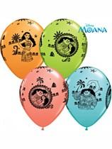 """Disney Moana 11"""" Latex Balloons 25pk"""